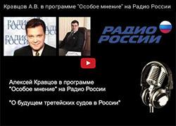 Кравцов А.В. в программе